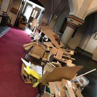 Church clean up vorerst vollendet
