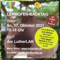 Lehmofen-Backtag