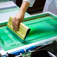 Siebdruckworkshop für Kinder